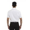 White - Back, 18CV317 Van Heusen Short Sleeve Dress Twill Shirt | T-shirt.ca