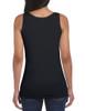 Black - 64200L Gildan Softstyle Junior Fit Tank Top | T-shirt.ca