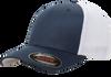 Navy/ White - 6511 Flexfit Mesh Trucker Cap | T-shirt.ca