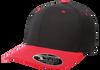 Black/Red - FF110C FlexFit Cool & Dry Pro-Formance Cap | T-shirt.ca