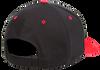 Black/Red - Back, 110C FlexFit Cool & Dry Pro-Formance Cap | T-shirt.ca
