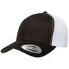 Black/White - YU6606 Yupoong Retro Trucker Cap | T-shirt.ca