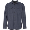 Denim - 8200 Burnside Men's Solid Flannel | T-shirt.ca