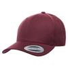 Maroon - YU6789M Yupoong premium Curved Snapback Cap | T-shirt.ca
