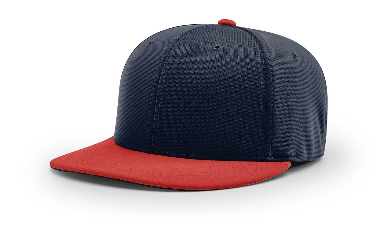 Navy/ Red - PTS20Y Richardson Youth Pulse R-Flex Cap   T-shirt.ca