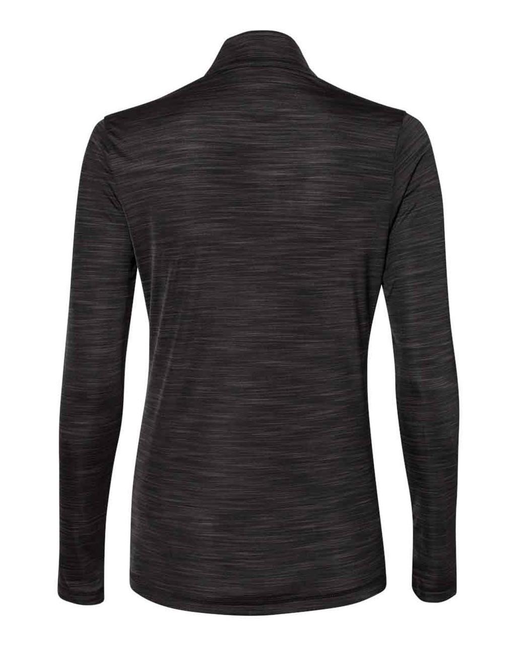 A476 Adidas Women's Lightweight Mélange Quarter-Zip Pullover Shirt   T-shirt.ca
