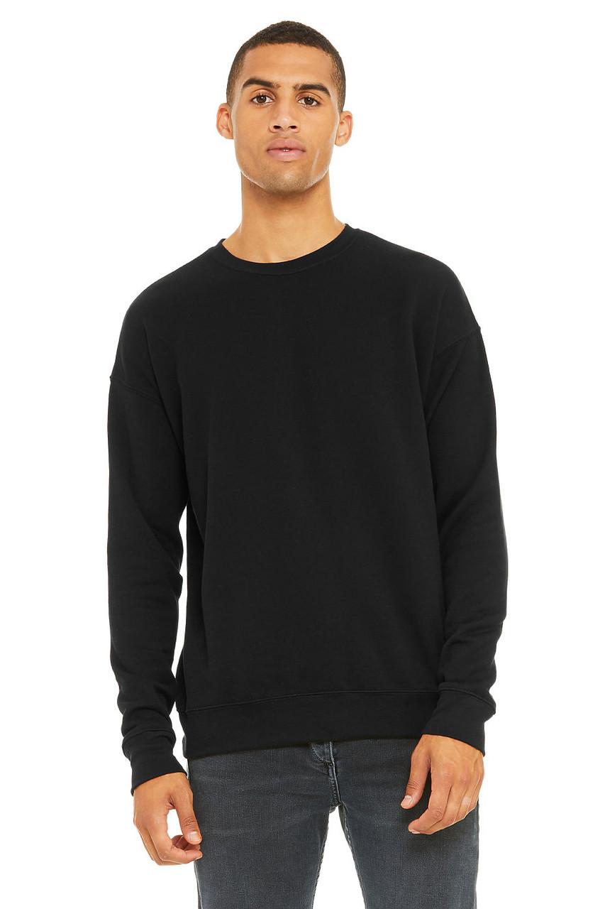 3945 Bella + Canvas Unisex Sponge Fleece Drop Shoulder Crewneck Sweatshirt | T-shirt.ca