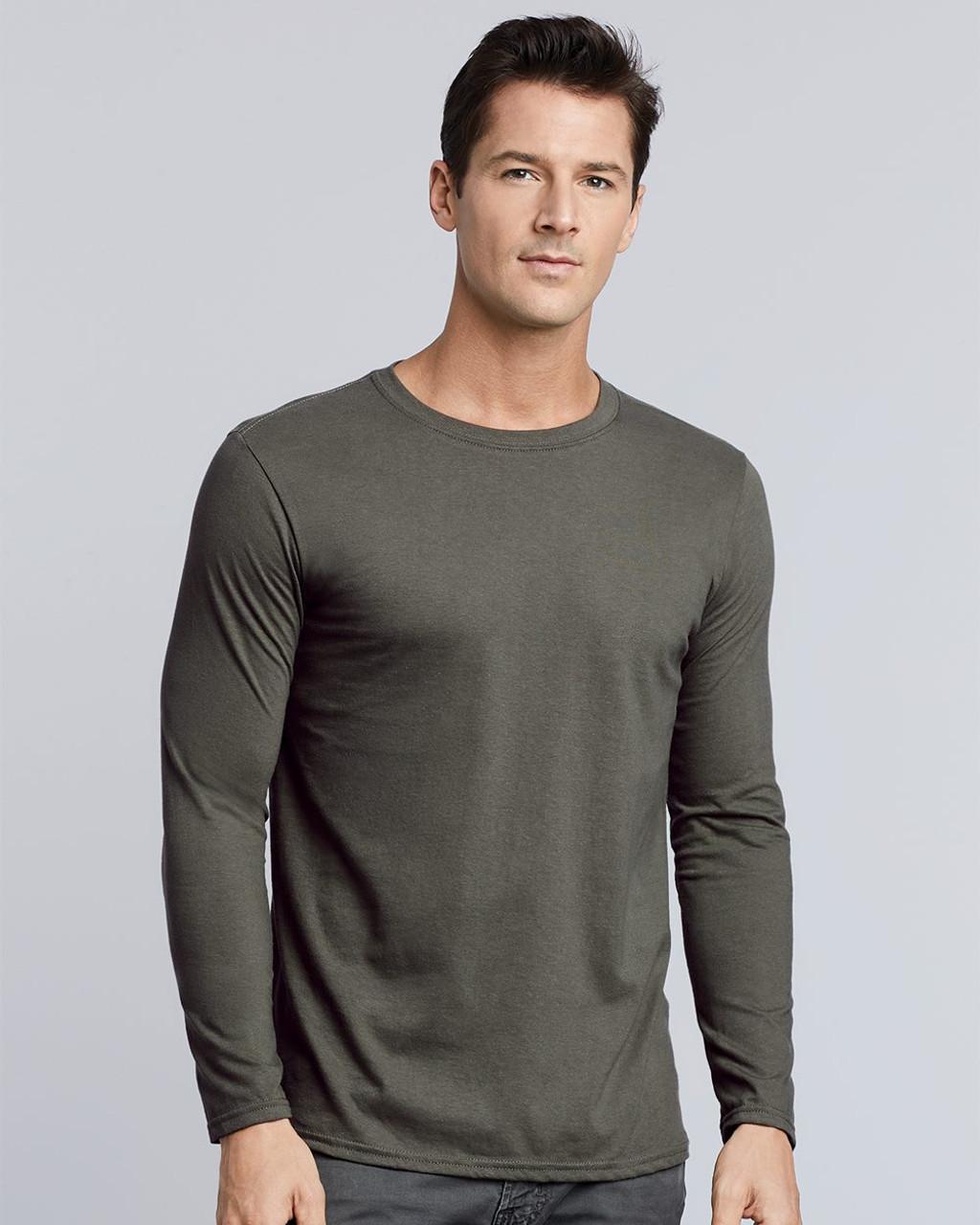 64400 Gildan Softstyle® Long Sleeve T-Shirt | T-shirt.ca