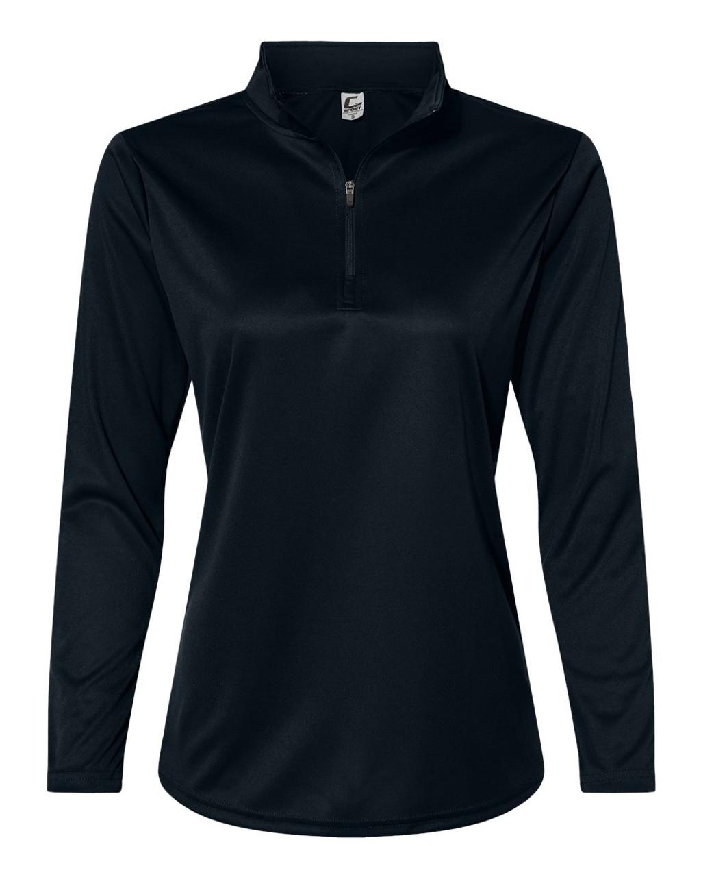 5602 C2 Sport Women's Qarter-Zip-Pullover Sweatshirt | T-shirt.ca