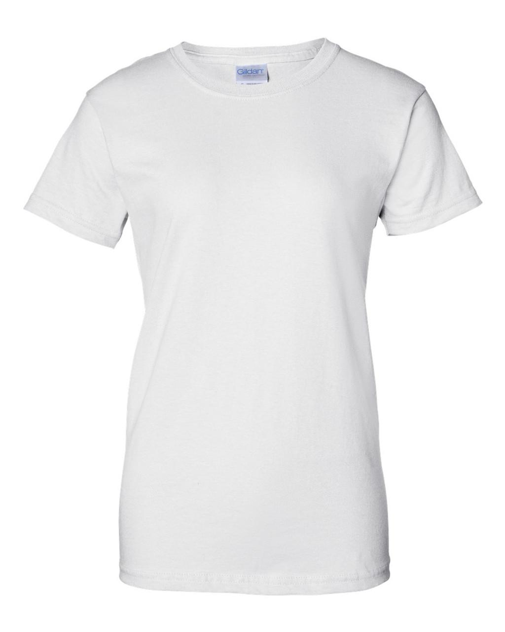 2000L Gildan Ultra Cotton® Women's T-Shirt | T-shirt.ca