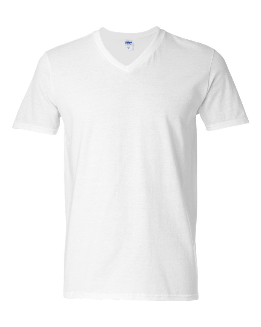 64V00 Gildan Adult V-neck T-shirt | T-shirt.ca