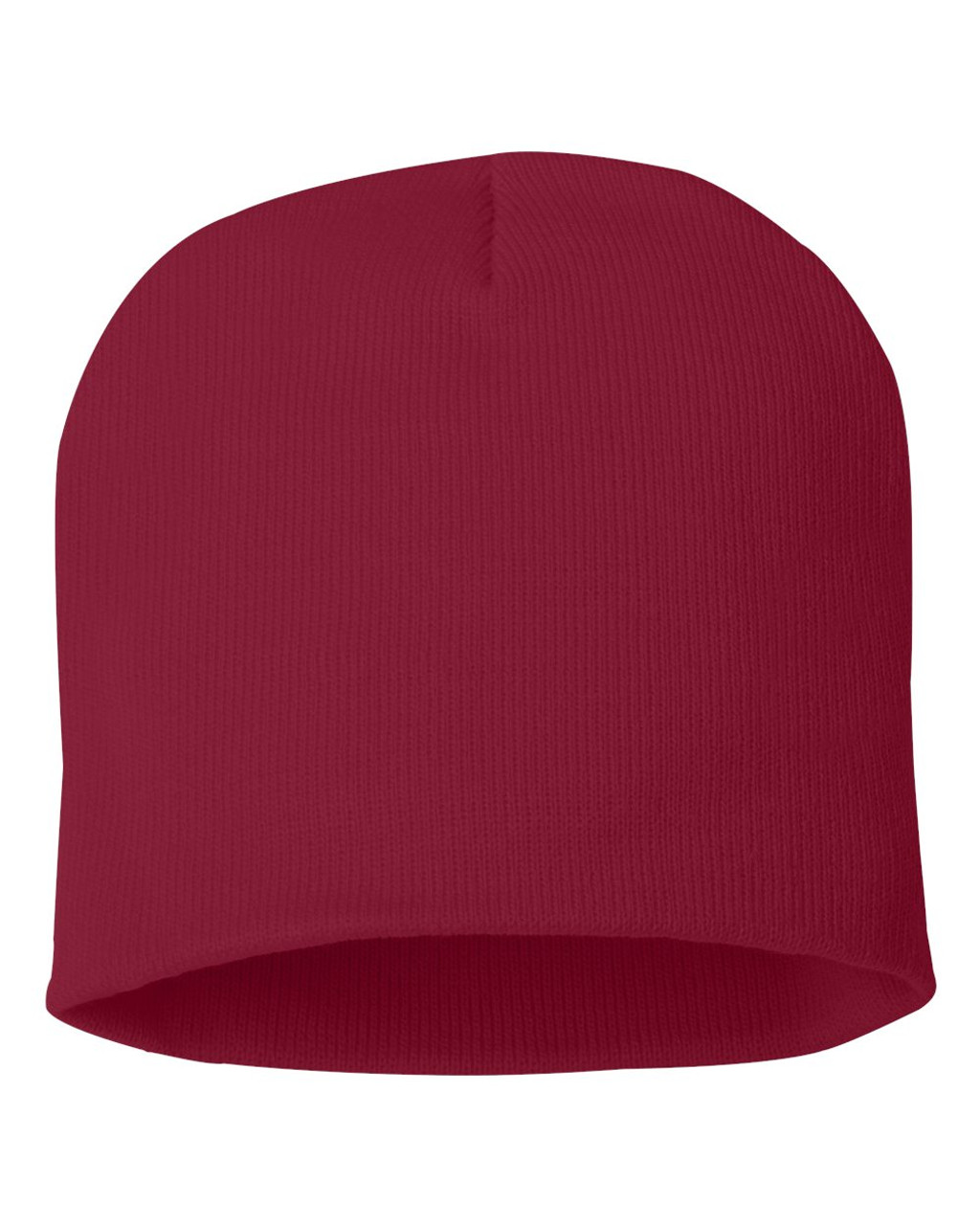 "Cardinal - SP08 Sportsman Acrylic Knit 8"" Toque 