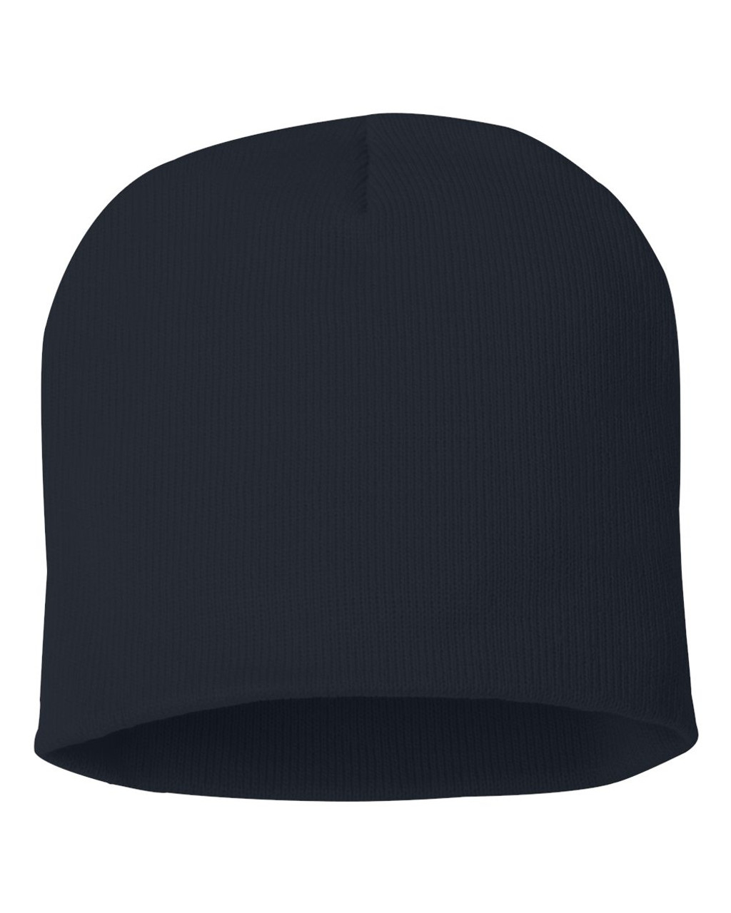 "Navy - SP08 Sportsman Acrylic Knit 8"" Toque 