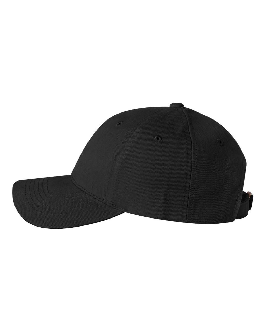 Black - SP9910 Sportsman Brushed Structured Hat | T-shirt.ca