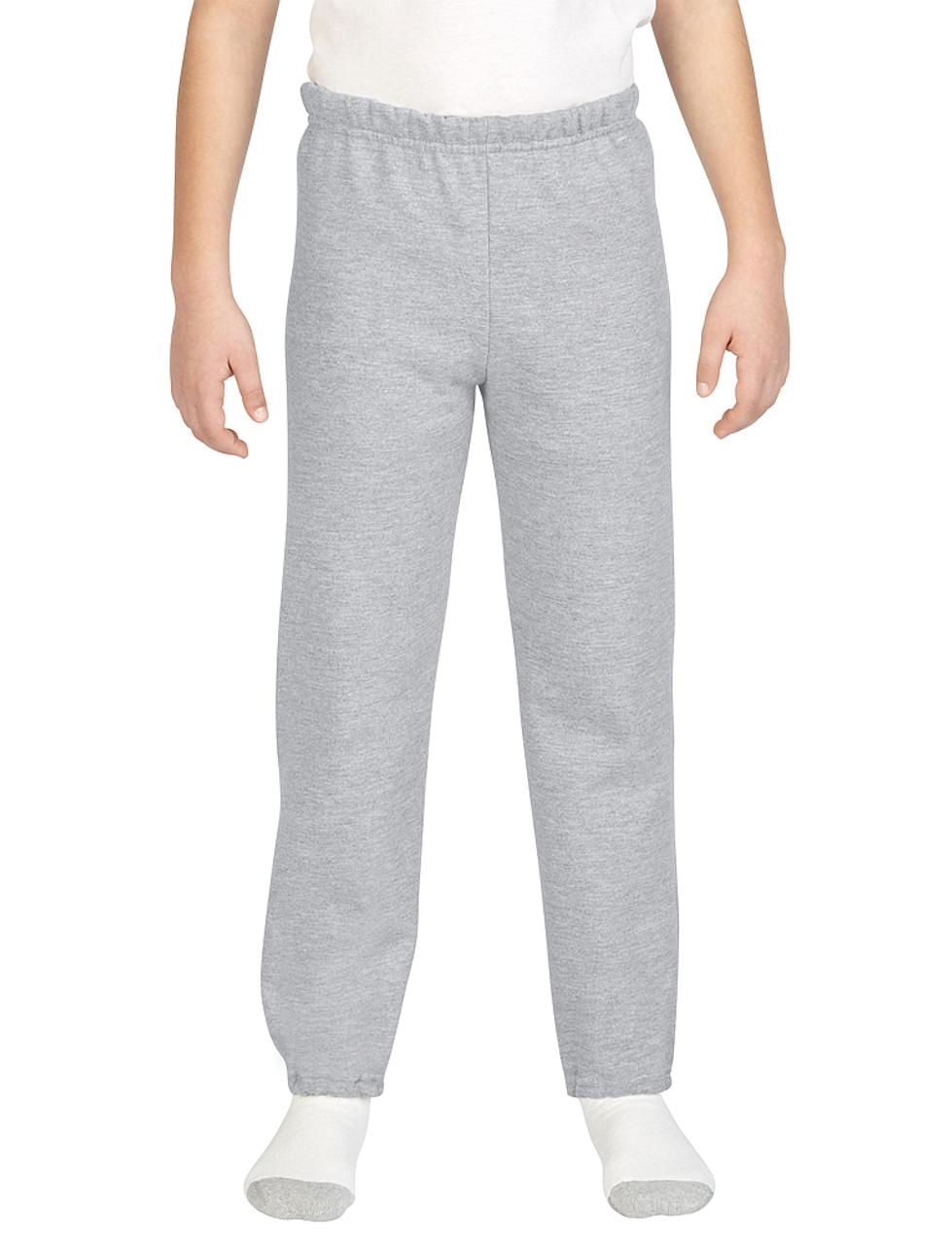 18200B Gildan Youth Heavy Blend Sweatpants   T-shirt.ca