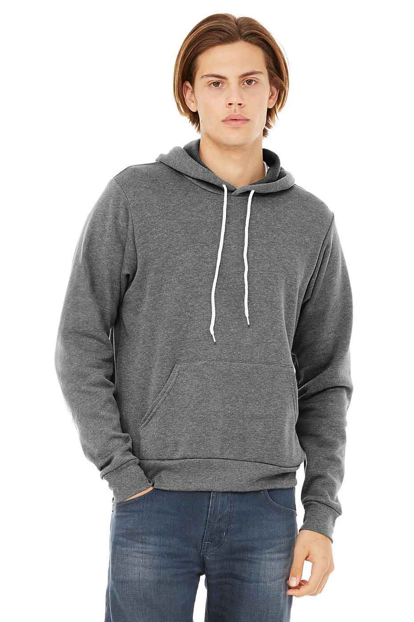 3719 Bella+Canvas Poly/Cotton Fleece Pullover Hoodie | T-shirt.ca