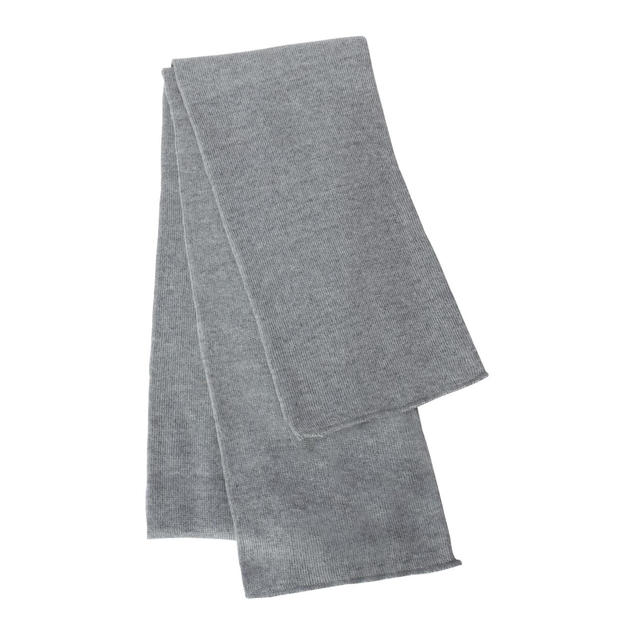 Heather Grey - SP04 Sportsman Knit Scarf | T-shirt.ca