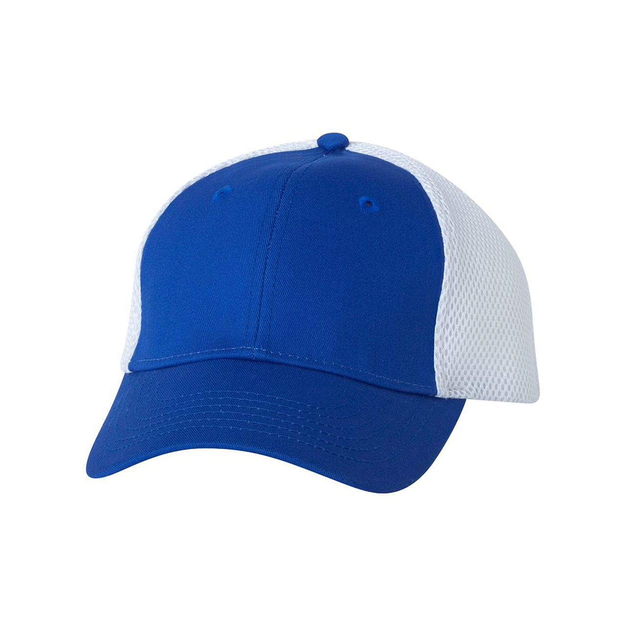 Royal/White - SP3200 Sportsman Mesh Back Cap