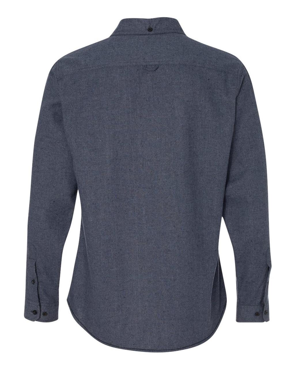 8200 Burnside Men's Solid Flannel   T-shirt.ca