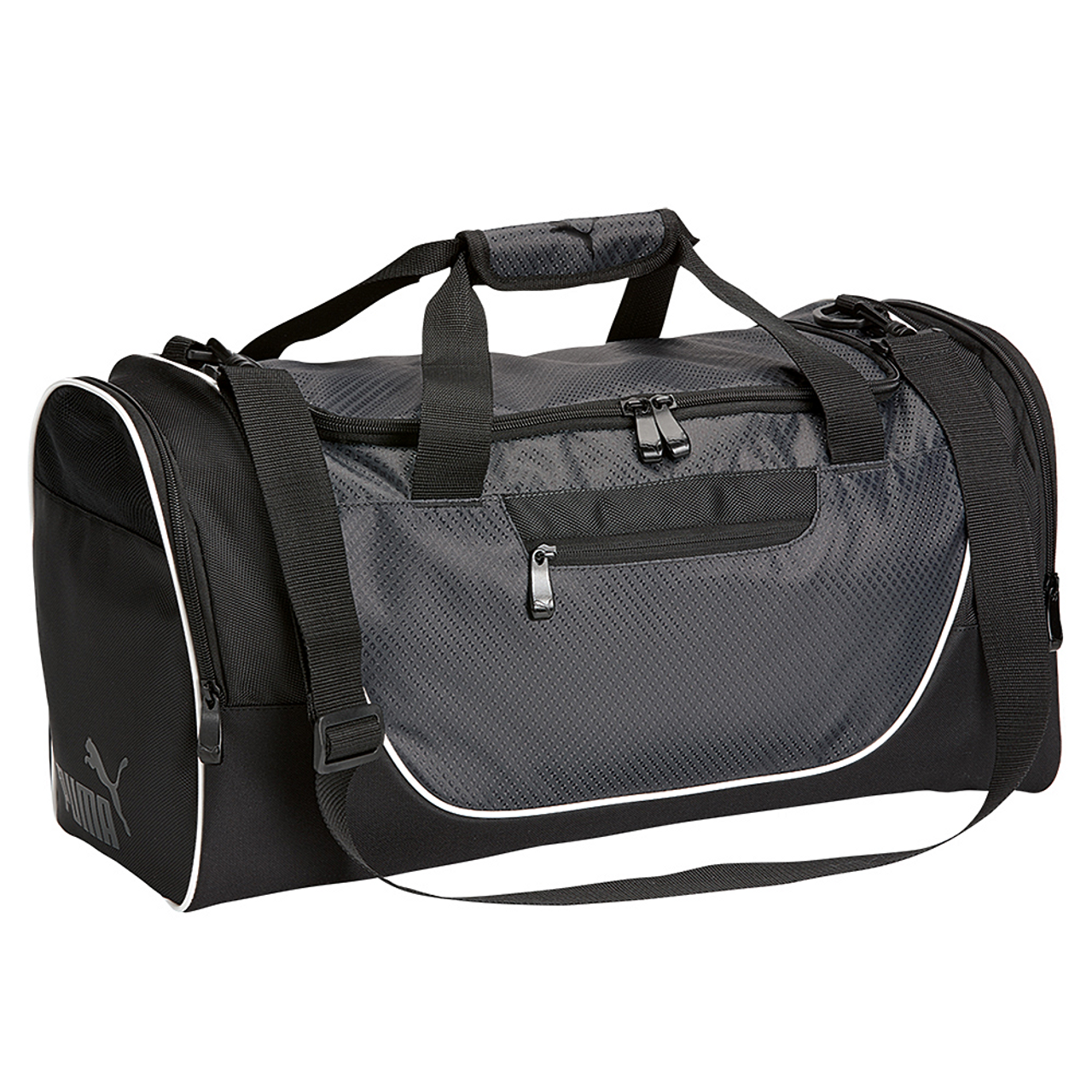 Dark Grey Black - PSC1032 Puma 21 Duffle Bag | T-shirt.ca