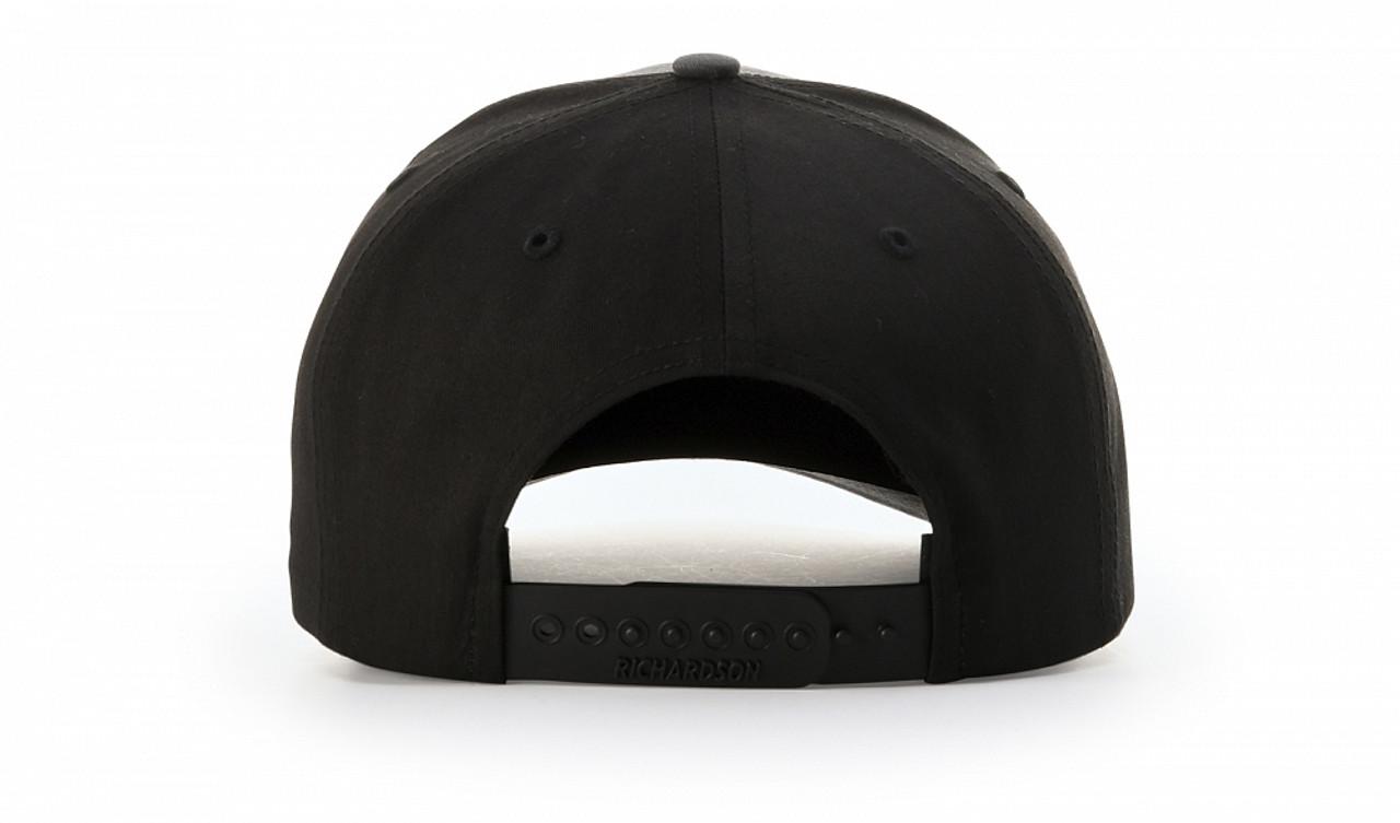 RC312 Richardson Twill Black Trucker Hat | T-shirt.ca