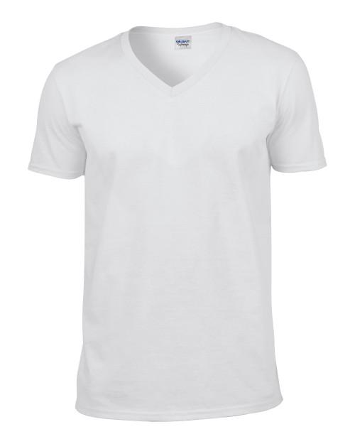 64v00 Gildan Adult V Neck T Shirt