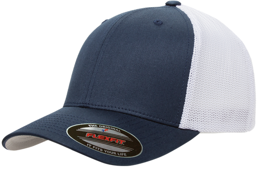 78147b890 FF6511 Flexfit Mesh Trucker Cap
