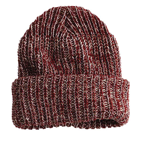 Maroon/Natural - SP90 Sportsman Chunky Knit Toque | T-shirt.ca