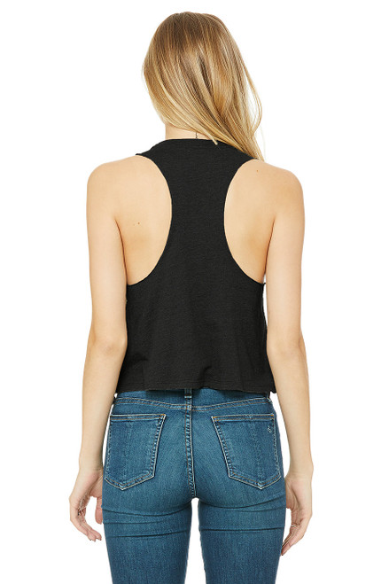 B6682 Bella + Canvas Women's Raceback Cropped Tank Top | T-shirt.ca