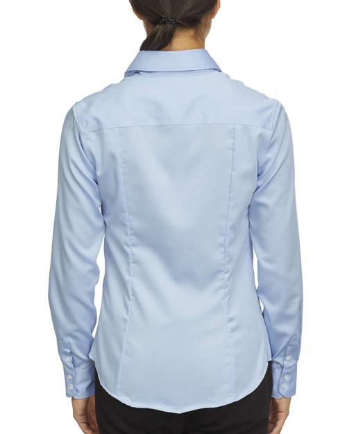 18CC105 Calvin Klein Ladies' Long Sleeve Non Iron Pincord Shirt | T-shirt.ca