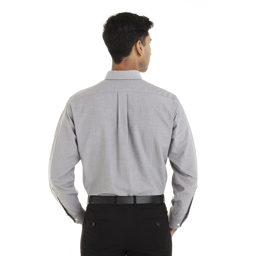 Greystone - Back, 18CV313 Van Heusen Long Sleeve Oxford Shirt | T-shirt.ca