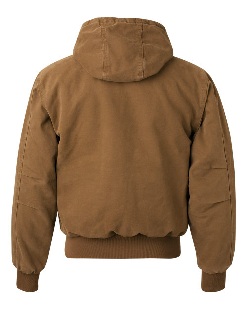 5020 DRI DUCK Cheyenne Boulder Cloth™ Hooded Jacket with Tricot Quilt Lining | T-shirt.ca