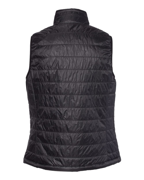 EXP220PFV Independent Trading Co. Women's Puffer Vest | T-shirt.ca