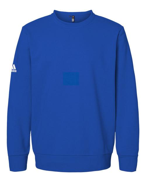 A434 Adidas Fleece Crewneck Sweatshirt   T-shirt.ca