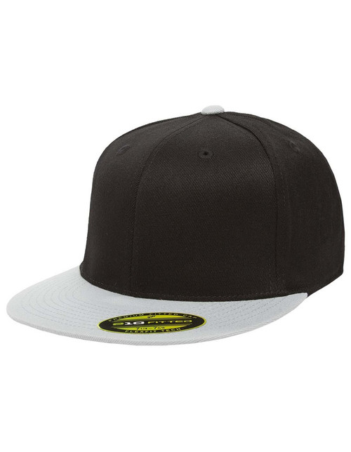 6210FF Flexfit Flat Bill Cap | T-shirt.ca