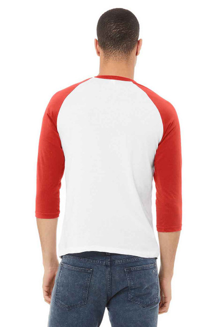B3200 Bella+Canvas Unisex ¾ Sleeve Baseball Tee | T-shirt.ca