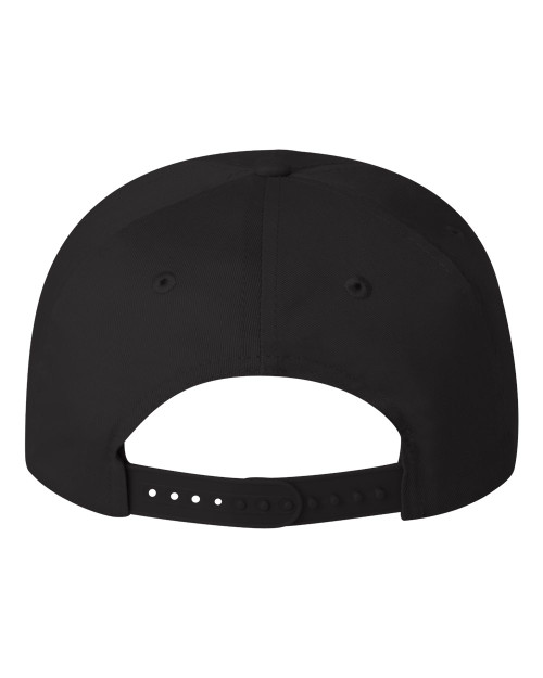 Black - Back, VC8869 Valucap Five Panel Cap | T-shirt.ca