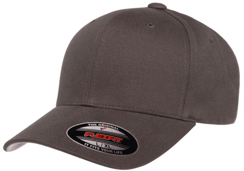 6377 FlexFit Brushed Twill Cap   T-shirt.ca