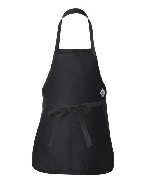 Q4250 Q-Tees Medium Length Apron With Pouch | T-shirt.ca