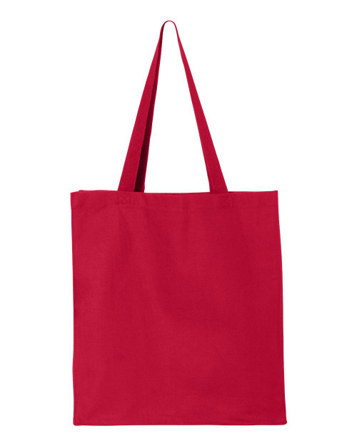 Q125300 Q-Tees Canvas Gusset Shopper Bag | T-shirt.ca