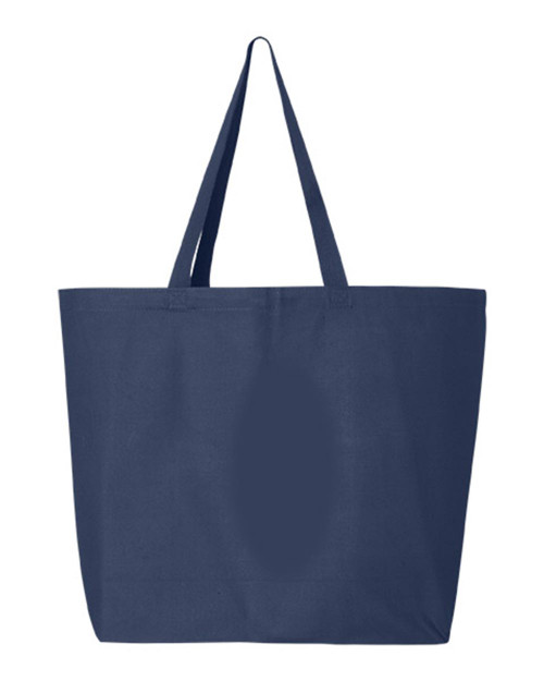 Q600 Q-Tees Canvas Gusseted Jumbo Tote | T-shirt.ca