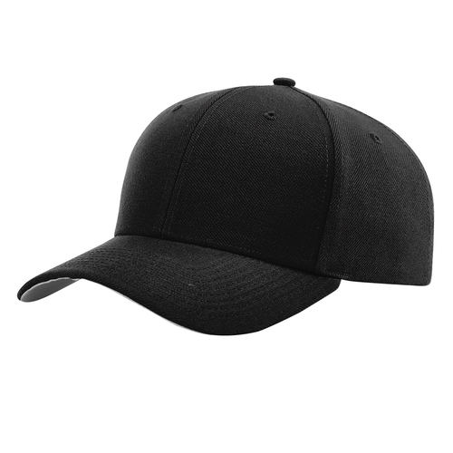Black - RC514 Richardson Poly-Surge Performance Cap | T-shirt.ca