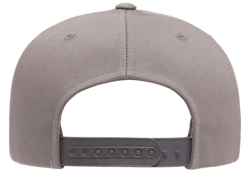 YU6007 Yupoong Five-Panel Flat Bill Cap | T-shirt.ca