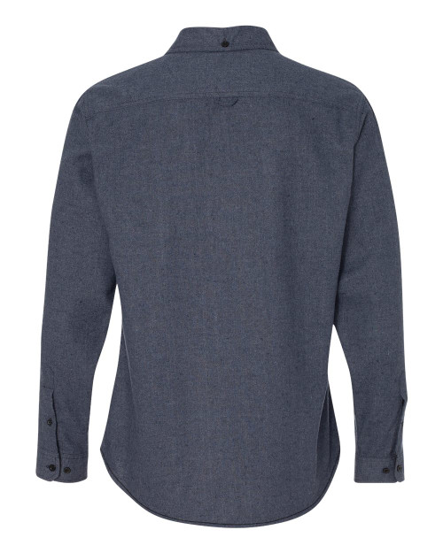 8200 Burnside Men's Solid Flannel | T-shirt.ca