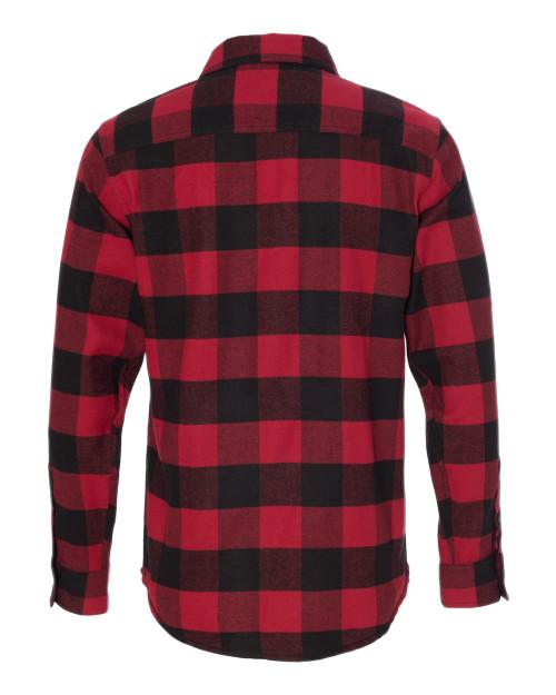 8210 Burnside Men's Woven Plaid Flannel | T-shirt.ca