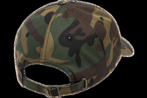 Green Camo - Back, YU6245CM Yupoong Classic Dad's Cap | T-shirt.ca