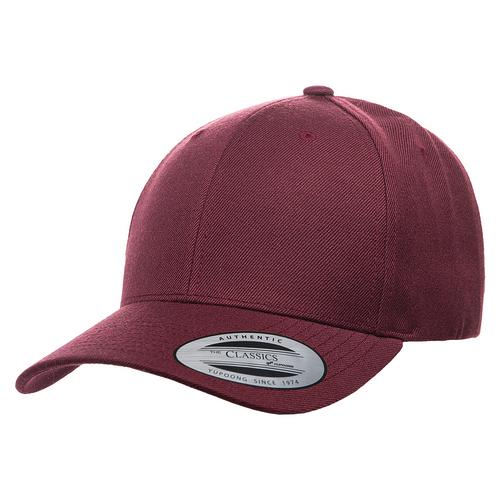 YU6789M Yupoong premium Curved Snapback Cap | T-shirt.ca