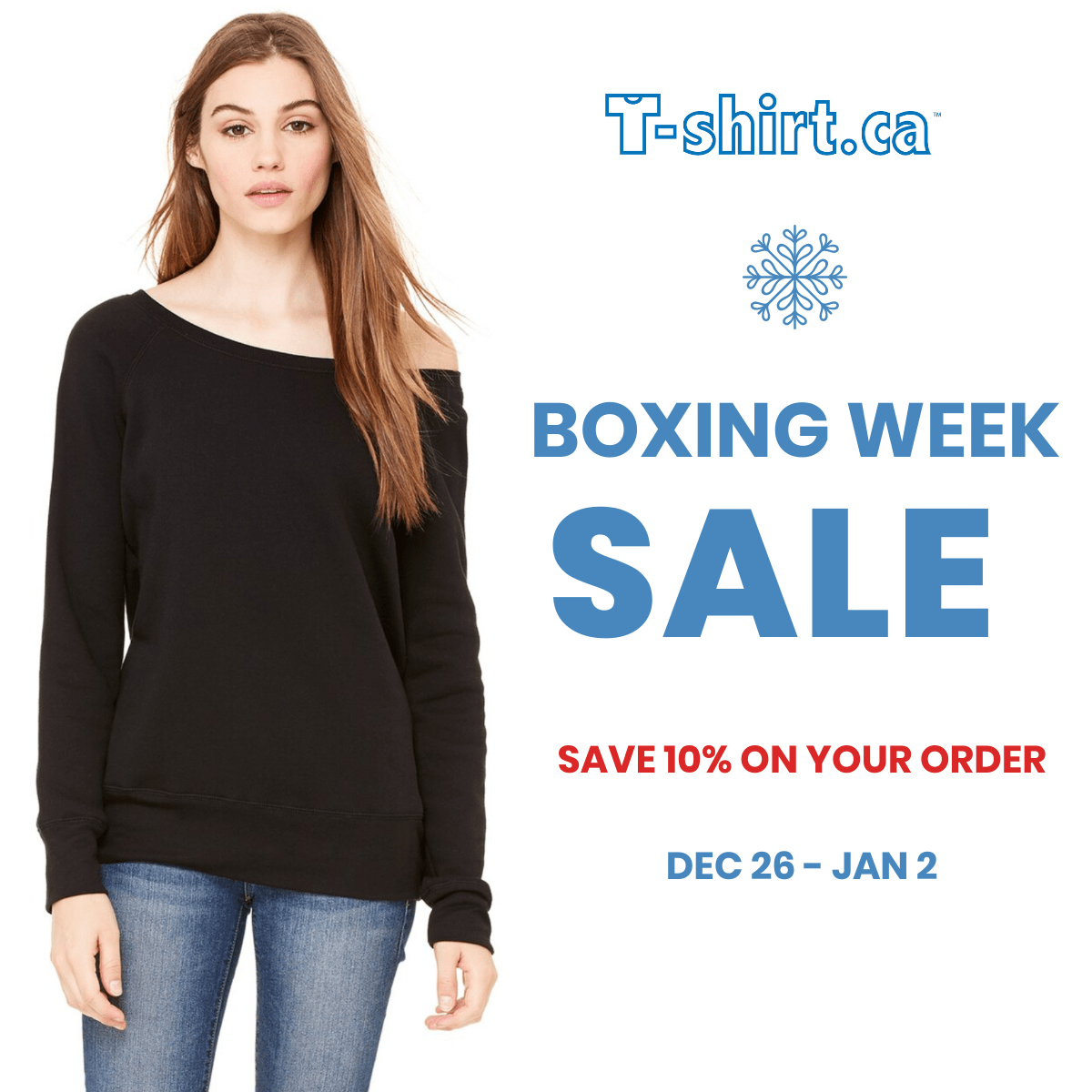 Get Ready For Our Boxing Week Sale!