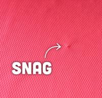 Fabric Snags | T-Shirt.ca