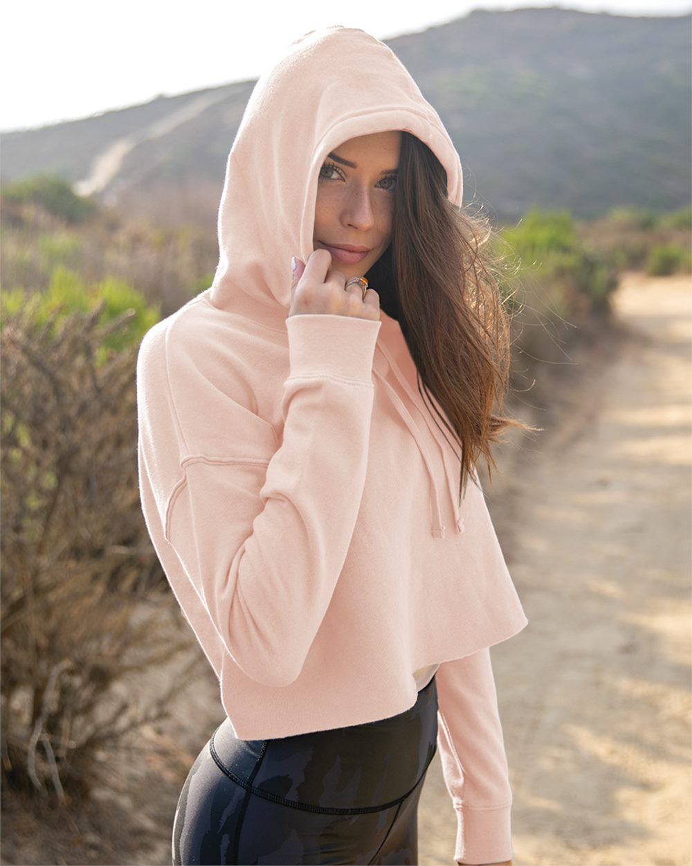 The Spring Cropped Hoodie